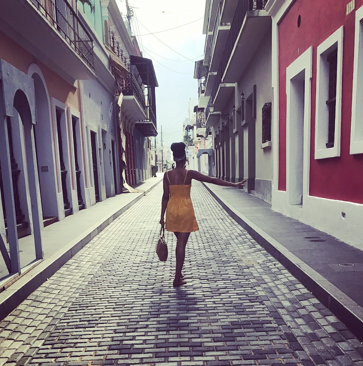 walking through old san juan, pr