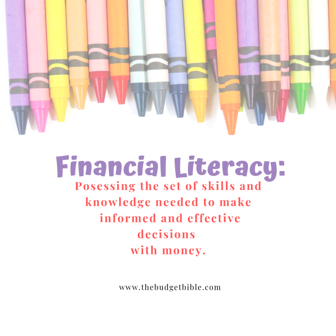 definition of financial literacy